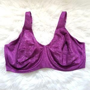 Bali Purple Underwire Bra size 38DDD